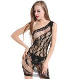 Оптовая высокая упругость плюс Fishnet Bodystocking BS8886 женское бельё размера сексуальный