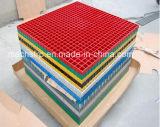 紙やすりで磨く表面が付いている多色刷りFRP/Fiberglassによって形成される格子
