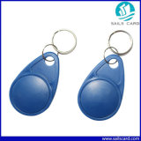 Lf/Tag chave RFID plásticos impermeáveis do Hf para o controle de acesso da porta