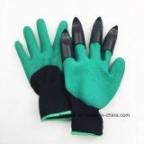 Сад перчатки с зацепами для земляных работ и высевающего аппарата