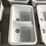 Kkrの樹脂の石の倍ボールのUndermountの台所洗浄流し(S1705091)