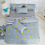 Jogo do fundamento de Microfiber com as caixas do descanso do Bedsheet da tampa do Duvet