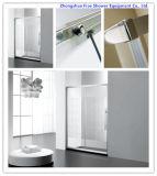 Loiça sanitária 6mm cabina de chuveiro em vidro temperado Gabinete Mobiliário de banho de chuveiro uma fixar um chuveiro porta corrediça acessórios de banho de tela