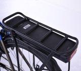 2017 Nuevo estilo de alimentación trasera 700c de la ciudad de eléctrico del motor de moto