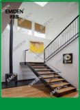 Шэньчжэнь Yi Mei Дэн лестницы питания прямо внутри балки стальные деревянные лестницы простые и красивые