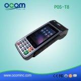 Terminal Handheld esperto da posição do registo de dinheiro de Andriod com cartão de Sam