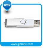 Диск USB шарнирного соединения промотирования Xtmas внезапный с снабжением жилищем металла