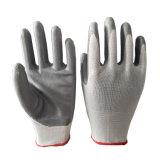13G gris Gants enduits à base de nitrile avec du polyester à l'intérieur
