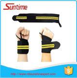 Courroies de poignet réglables de formation de levage de poids de forme physique, courroies de poignet de levage de poids, courroies de poignet s'exerçantes