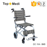 アルミニウムフレームが付いているAirportwheelchair/Tranistの軽量の車椅子