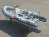 Rescate inflable rígido de China Aqualand 18feet los 5.4m/barco del bote patrulla/de motor de la costilla (RIB540A)