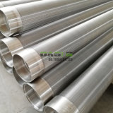 304 Stainless Steel Wedge Wire Screen Cylinders Pipe
