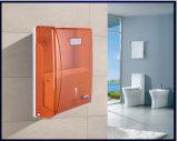 De Muur van uitstekende kwaliteit zette de Grote Plastic Houder van de Automaat van het Document van het Vakje van de Container van het Toiletpapier op