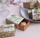 中国の製造業者の引出しデザイン結婚式はリボン##Cc26とキャンデーの菓子党ギフト包装ボックス袋を支持する