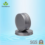 серебряный замороженный пустой косметический упаковывая алюминиевый опарник 250g