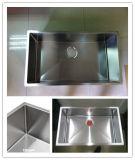Раковина нержавеющей стали Handmade, тазик Hmss3017 кухни шара Undermount одиночный большой