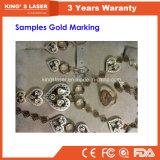 Laser-Markierung der Garantie 3year Deskltop Goldgravierfräsmaschine-50W