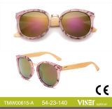 Readystock Custom Design de Moda da estrutura do PC, Bambu óculos de sol (615-A)