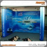 Sistema al aire libre de la cabina de la exposición de la visualización de la feria profesional de la manera