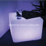 Tabella e presidenza del cubo di 40X40X40cm LED per lo snack bar
