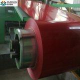 Cruce caliente Prepainted bobinas de acero galvanizado todas Color RAL PPGI