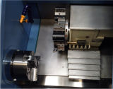 기우는 침대를 가진 CNC 선반 기계 Ck60t