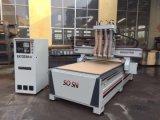 Macchina per incidere di legno di CNC delle quattro teste
