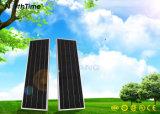 Réverbère solaire automatique de l'éclairage 25W DEL de la batterie au lithium 18ah