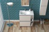 Marmorbadezimmer-Möbel-feste Oberflächenbadezimmer-Schrank-Eitelkeit