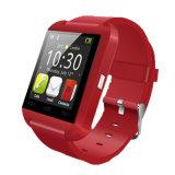 """인치 TFT LCD 스크린 128*128 전시 보수계 Bluetooth 1.44 """" 헬스케어를 위한 U8 지능적인 시계"""