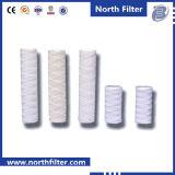 Cartouche filtrante de l'eau de blessure de chaîne de caractères de medias de pp pour l'usine sidérurgique