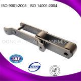 A madeira serrada forjou a corrente transportadora da madeira serrada do elevador de cubeta com o ISO aprovado