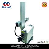 Вертикальный тип машина маркировки лазера волокна