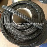 Schwarzes PTFE Braided Packing mit Graphite