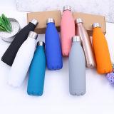 Edelstahl-Wasser-Flaschen-Flaschen-Doppeltes ummauert rostfreies Flaschen-Metallthermische Kolben-Wasser-Flasche