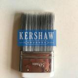 Pintura Brush (cepillo plano con la manija del filamento afilado y del tacto suave, la virola de Stainless Steel) St-001