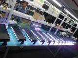Lumière sans fil à piles de rondelle de mur de 8X5w DMX DEL