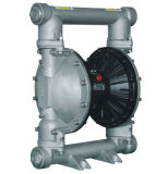Rd 2 pulgadas neumático de aire doble bomba de diafragma de desplazamiento positivo