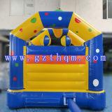 어릿광대 아이들의 성곽 성인을%s 팽창식 점프 침대 또는 사랑스러운 상업적인 팽창식 도약자 성곽