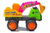 Giocattolo di plastica dell'automobile di modello della scala dell'escavatore del bulldozer