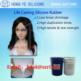 El caucho líquido de silicona para el silicón lleno del sexo muñecas juguetes para adultos