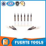 carboneto de tungsténio 2 flautas extremidade quadrada Mill 0,5mm