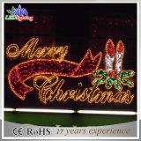 Самые последние гостиница знака металла СИД конструкции/свет письма рождества мола