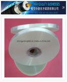 Cinta transparente de la hoja del animal doméstico de la buena calidad para el cable que blinda y que envuelve