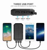Banque d'énergie solaire chargeur portable Mini 8000mAh pour téléphone