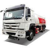 Sino HOWO 6X4 6X6 20000litres en acier inoxydable ajouter d'aluminium pour la vente de camions du réservoir de carburant diesel essence citerne du camion d'huile