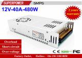 De Levering van de Macht Omschakeling van de HOOFD van de Bestuurder 12V 40A 480W die voor Printer wordt gereserveerd