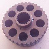 Pièces de pompe à piston de Hysraulic d'excavatrice de MSG-27 KYB