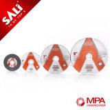 Abrasvie Schneid- und Schleifscheibe für Inox mit MPA-Zertifikat