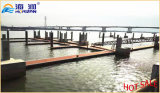 Utilizar el dique flotante del marco de aluminio estable para el barco el pontón